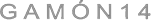 Gamon 14 Logo
