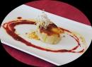Terrina de Mouse de Foie con queso de cabra y manzana caramelizada